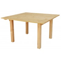 Стол деревянный ComfortProm 140х140