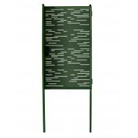 Калитка Модерн 1030х1000 зеленая + 2 столба